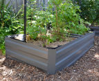 Greenlife 1800x900mm Raised Garden Bed w/ Support Braces - Slate Grey 4