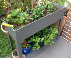 Greenlife 1000x300mm Raised Garden Planter - Slate Grey 4