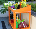 Greenlife 1000x550mm Potting Bench - Tangerine 3