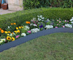Greenlife 6000x150mm Steel Garden Edging - Slate Grey 3