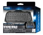 Nyko PS4 Type Pad Bluetooth Gaming Keyboard - Black 6
