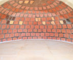 Traditional Tuscan-Style Wood Oven - Light Brown 3