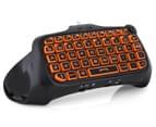 Nyko PS4 Type Pad Bluetooth Gaming Keyboard - Black 3