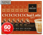 6 x Arkadia Spice Chai Latte Nespresso Compatible Capsules 10pk 1
