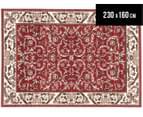 Classic Design 230 x 160cm Rug - Red 1