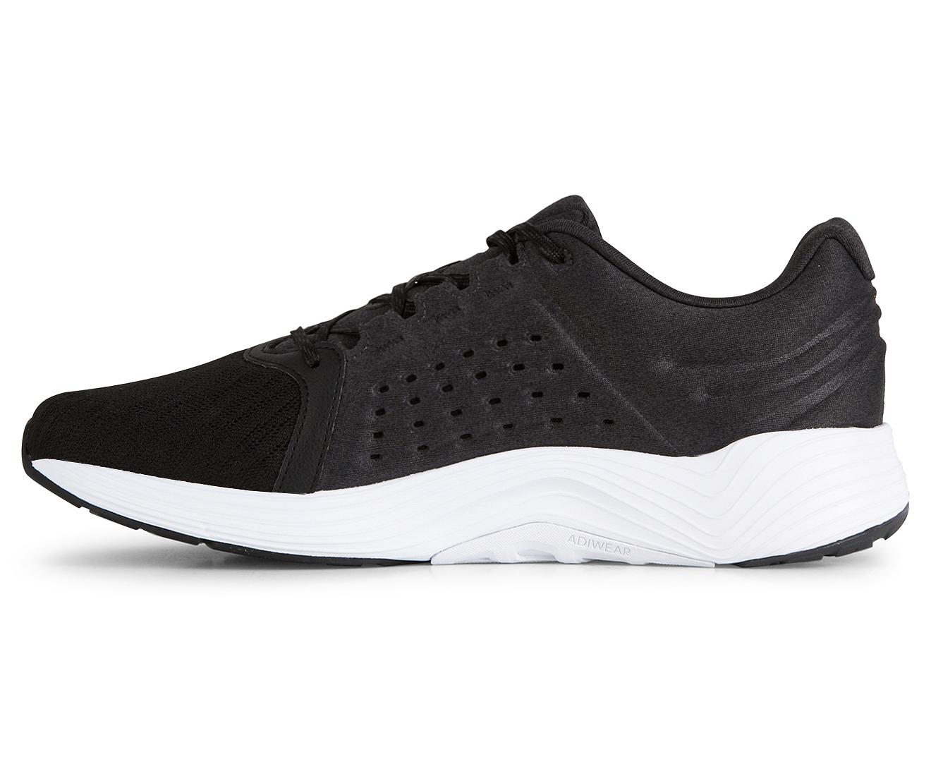Adidas uomini è liquido nuvola scarpa da corsa / argento metallico nero / bianco