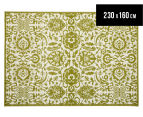 Rug Culture 230x160cm Funky Lace Rug - Olive 1