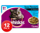 12 x Whiskas Favourites Multipack Tuna 85g 1