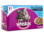 12 x Whiskas Favourites Multipack Tuna 85g 2