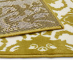 Rug Culture 230x160cm Funky Lace Rug - Olive 4