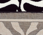 Rug Culture 230x160cm Zebra Print Rug - Black/White 4