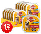 12 x Pedigree Complete Nutrition w/ Real Beef 100g 1