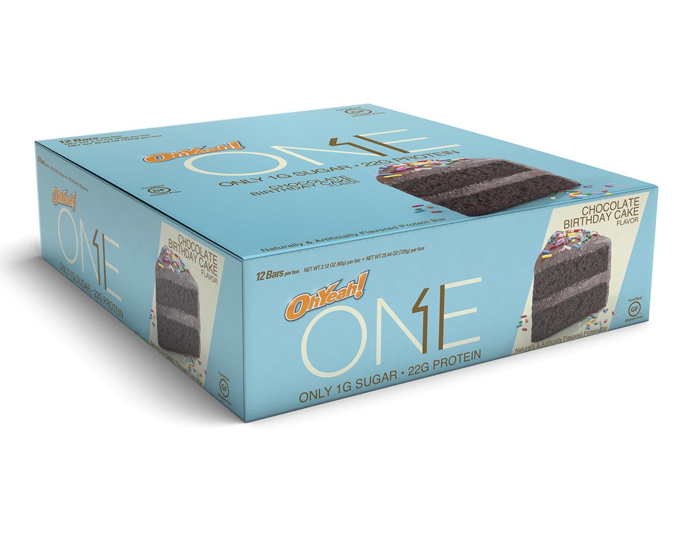 ONE Protein Bars Chocolate Birthday Cake 60g