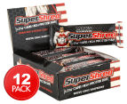 12 x Max's Super Shred Low Carb High Protein Bar 60g - White Choc Raspberry 1