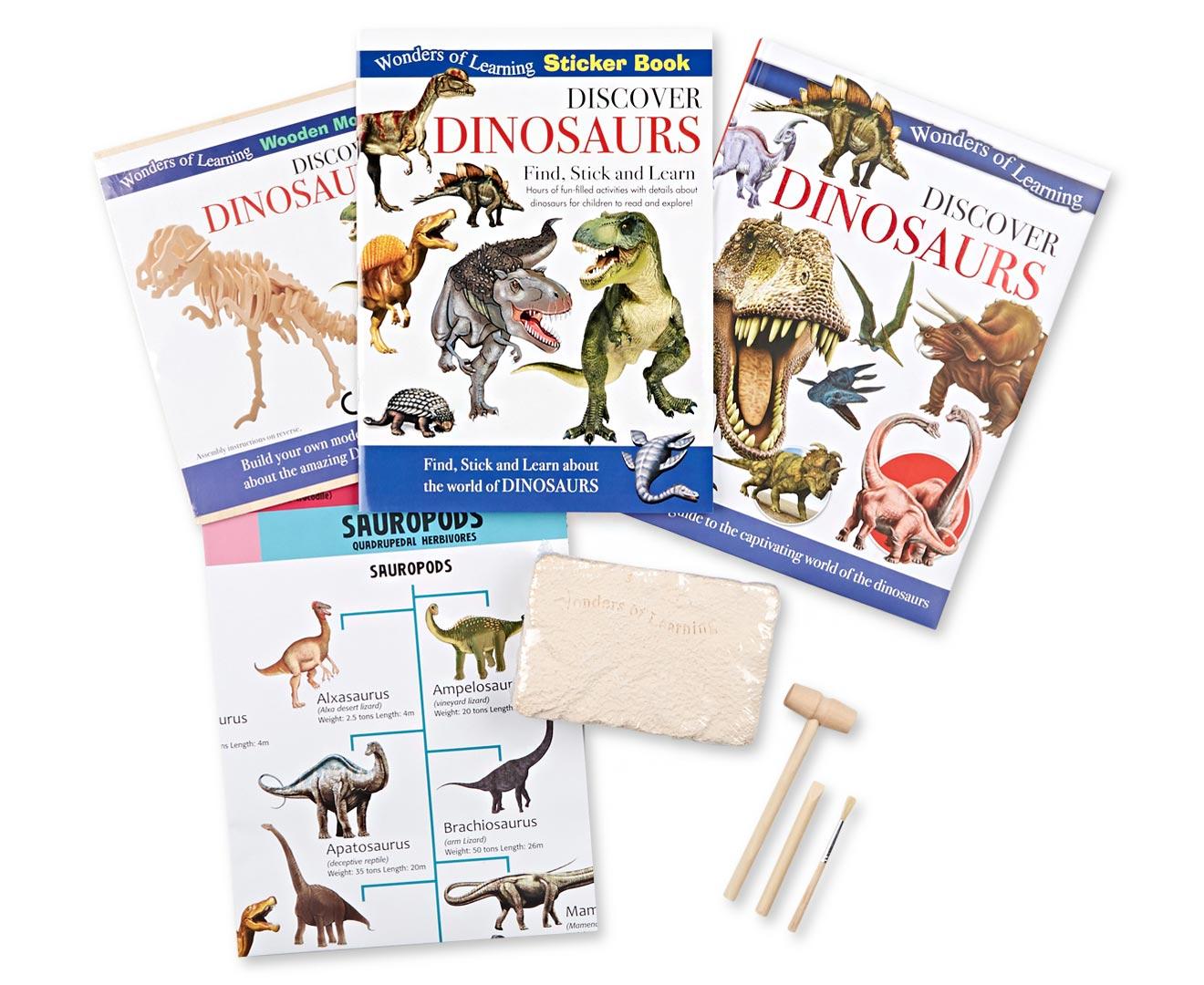 Discover Dinosaurs Educational Box Set
