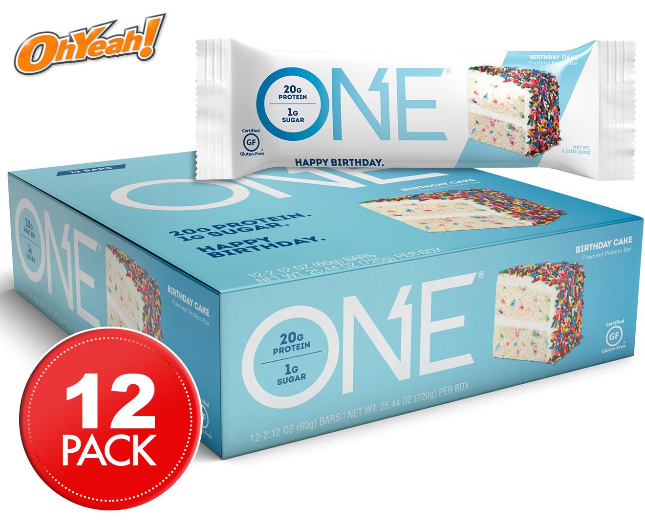 ONE Protein Bars Birthday Cake 60g