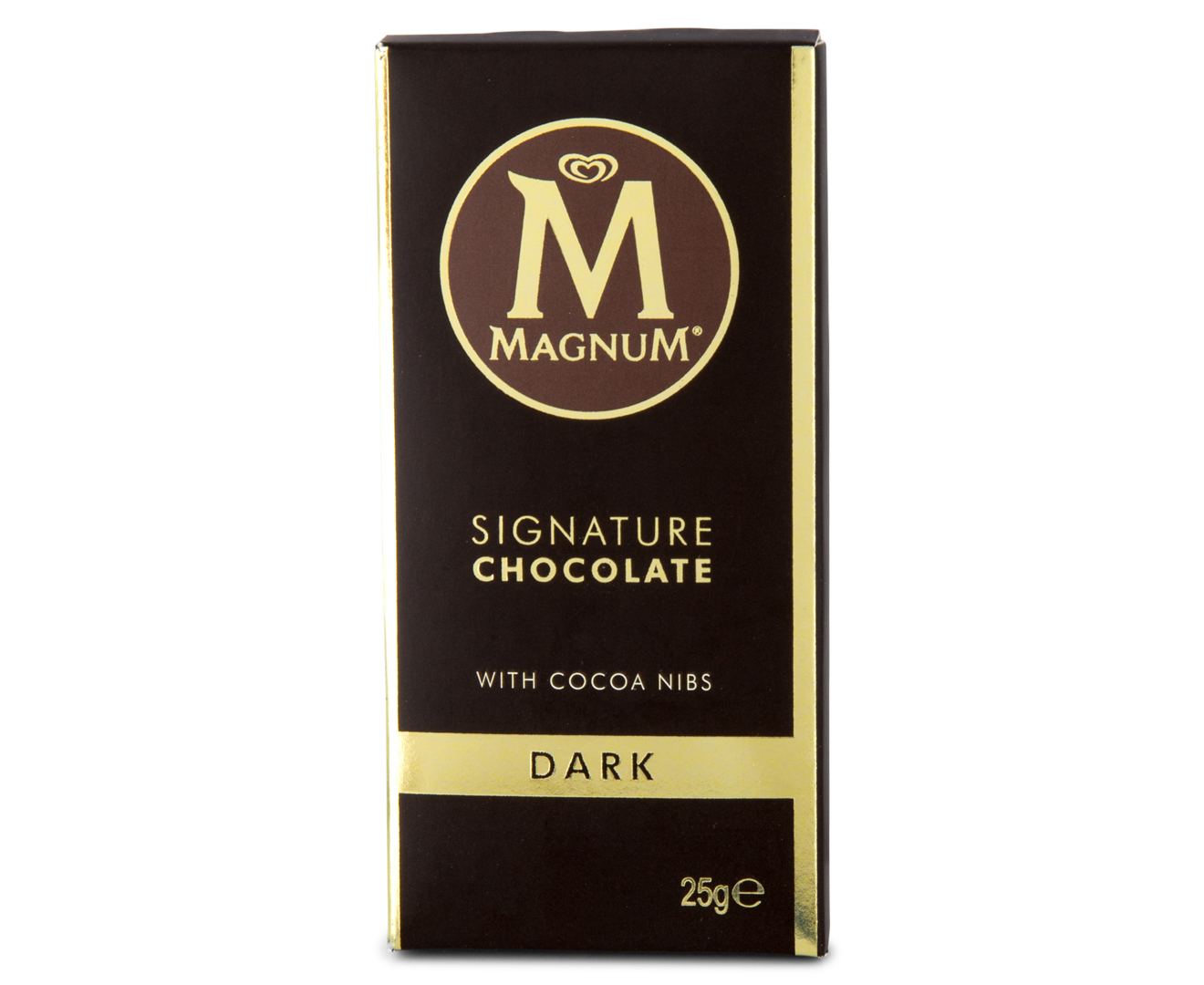 30 x magnum signature dark chocolate mini bar 25g catch. Black Bedroom Furniture Sets. Home Design Ideas