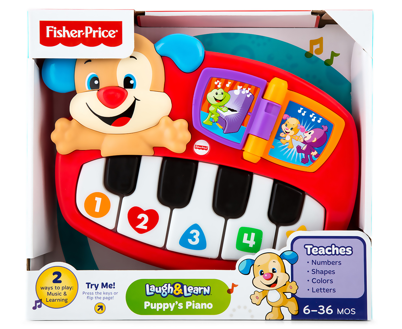 Fisher Price Laugh Amp Learn Puppy S Piano Toy Catch Com Au