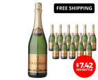 12 x Grandial Blanc De Blancs NV 750mL 1