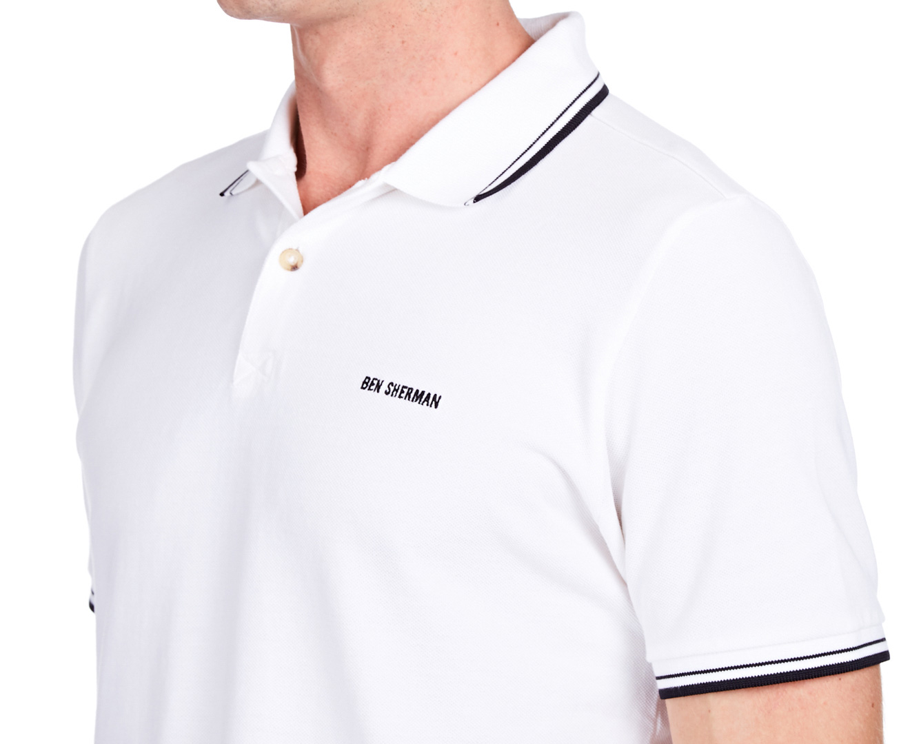 romford men Free shipping and returns on ben sherman romford polo at nordstromcom classic color tipping and chest embroidery accents a traditional tennis polo made of a soft piqué-knit tailored best for slender mid-heights.