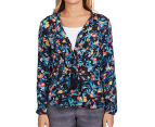 Billabong Women's Black Nite Jacket - Black 2