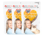 3 x Love'em Purrfect Chicken Liver Cat Treats 90g video
