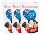 3 x Love'em Purrfect Beef Liver Cat Treats 90g 1