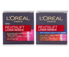 L'Oréal Revitalift Laser Renew Anti-Ageing Day Cream & Night Mask 50mL 1