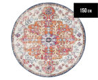 Rug Culture 150x150cm Ashanti Rug - Bone White 1