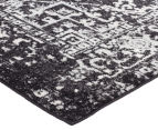 Rug Culture 300x80cm Cairo Runner - Charcoal 2
