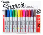 Sharpie Brush Tip Permanent Marker 12-Pack - Assorted 1