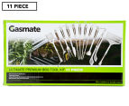 Gasmate Ultimate Premium 11-Piece BBQ Tool Kit - Stainless Steel 1