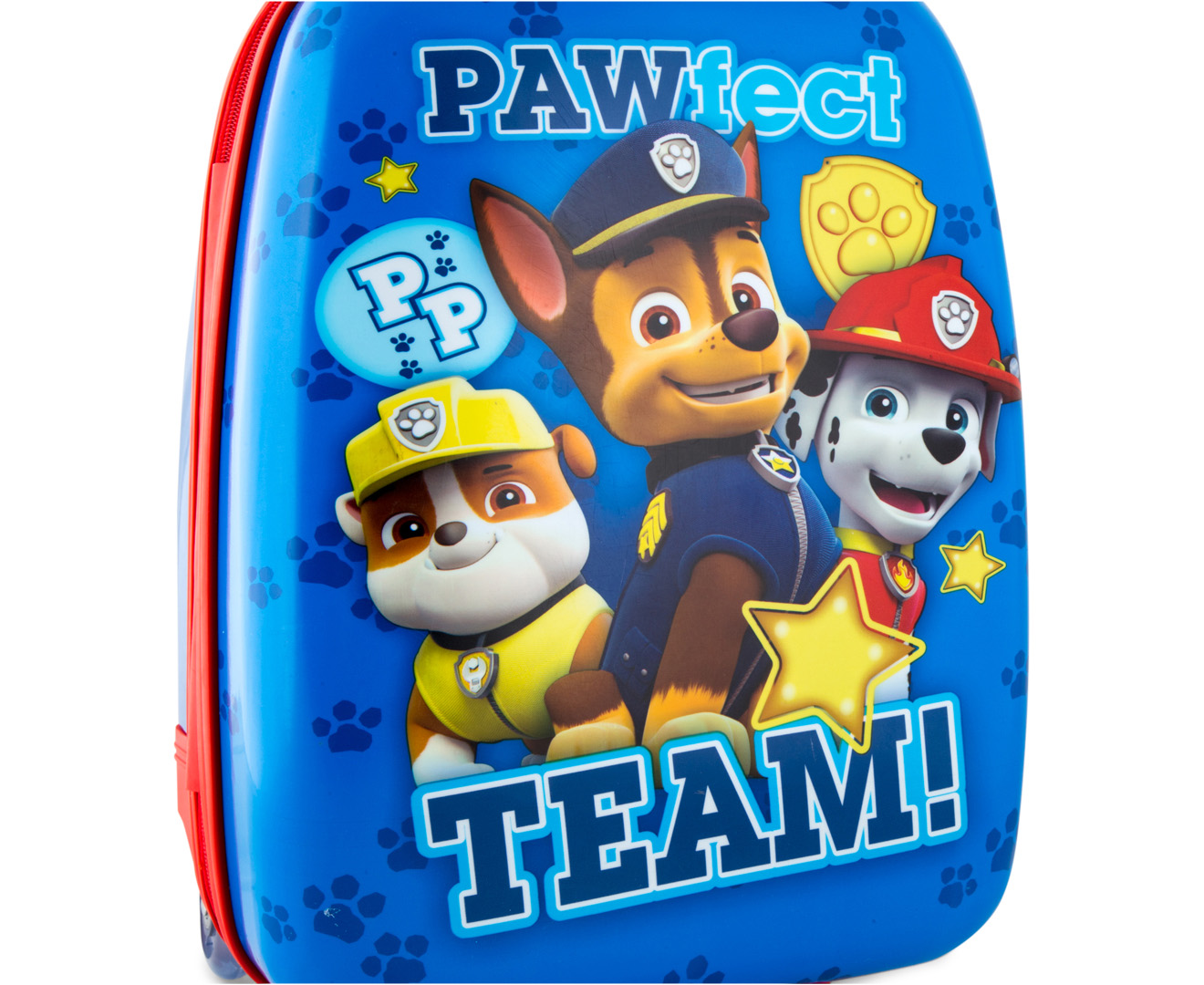 ddf114a311a8 Paw Patrol Kids  47x30cm Hardshell Suitcase - Blue