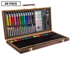 Scribbles Stationery 88-Piece Deluxe Art Set 1
