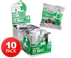 10 x Slim Secrets Low Carb Fit Balls Choc Mint 50g 1