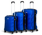 Pierre Cardin Expandable 3-Piece Hardshell Super Light Luggage - Royale Blue 1
