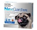 NexGard Flea & Tick Control Chews for Medium Dogs 4.1-10kg 6pk 1