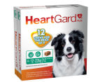 HeartGard Plus Worm Protection Chews for Medium Dogs 12-22kg 12pk 1