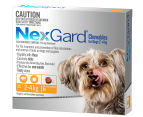 NexGard Flea & Tick Control Chews for Small Dogs 2-4kg 6pk 1