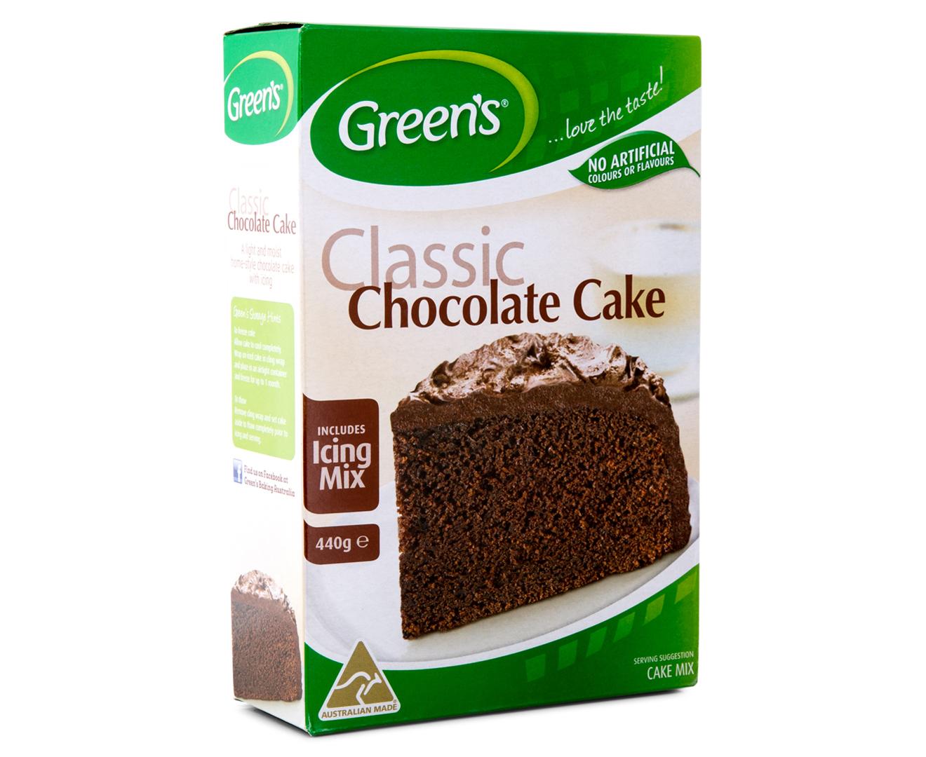 Greens Chocolate Cake Mix