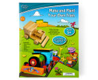 Craft Kits For Kids: Make & Paint Your Own Train 1