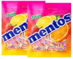 2 x Mentos Fruit Chews 405g 1