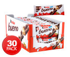 30 x Kinder Bueno Banded Chocolate Bars 43g 1