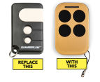 Auto Openers Active Series B&D 4330 Garage Door Remote - Gold 1