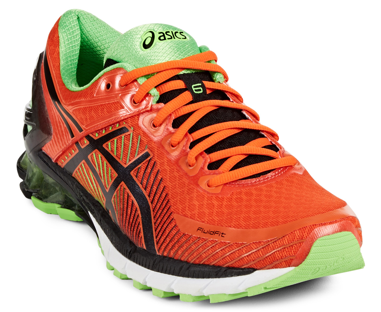 wholesale dealer 04c41 7fdae ... red Catch.com.au ASICS Mens GEL-Kinsei 6 Shoe - FiestaBlackGreen Gecko  ...