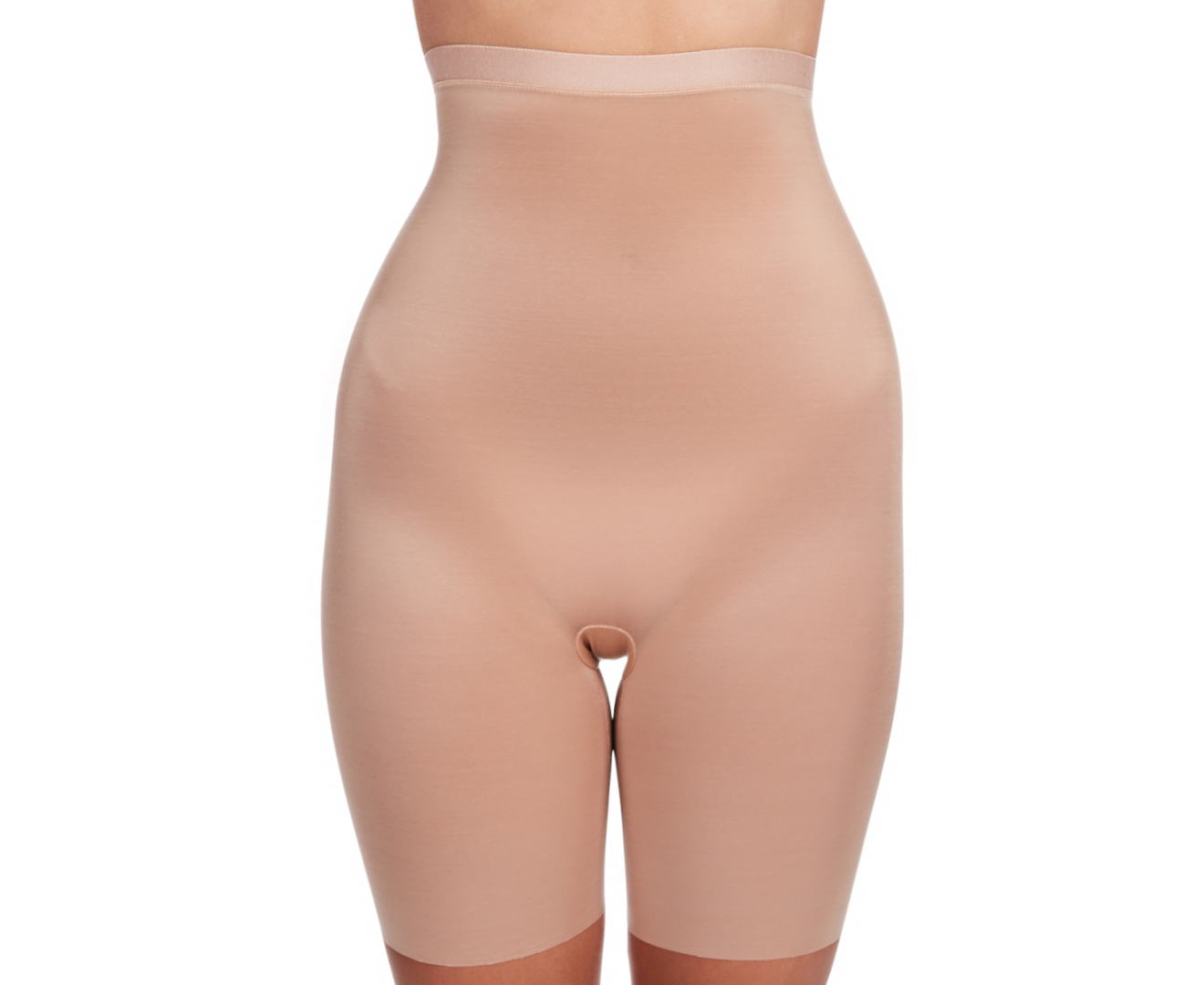 acb7d78802ed6 Spanx Women s Skinny Britches High Waisted Mid-Thigh Short - Naked 2.0