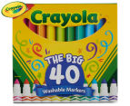 Crayola The Big 40 Washable Markers 40-Pack 2