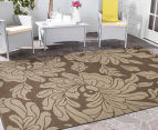Oriental 160x110cm UV Treated Indoor/Outdoor Rug - Malt 2