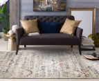 Belle Exquisite 290x200cm Large Rug - Silver 2
