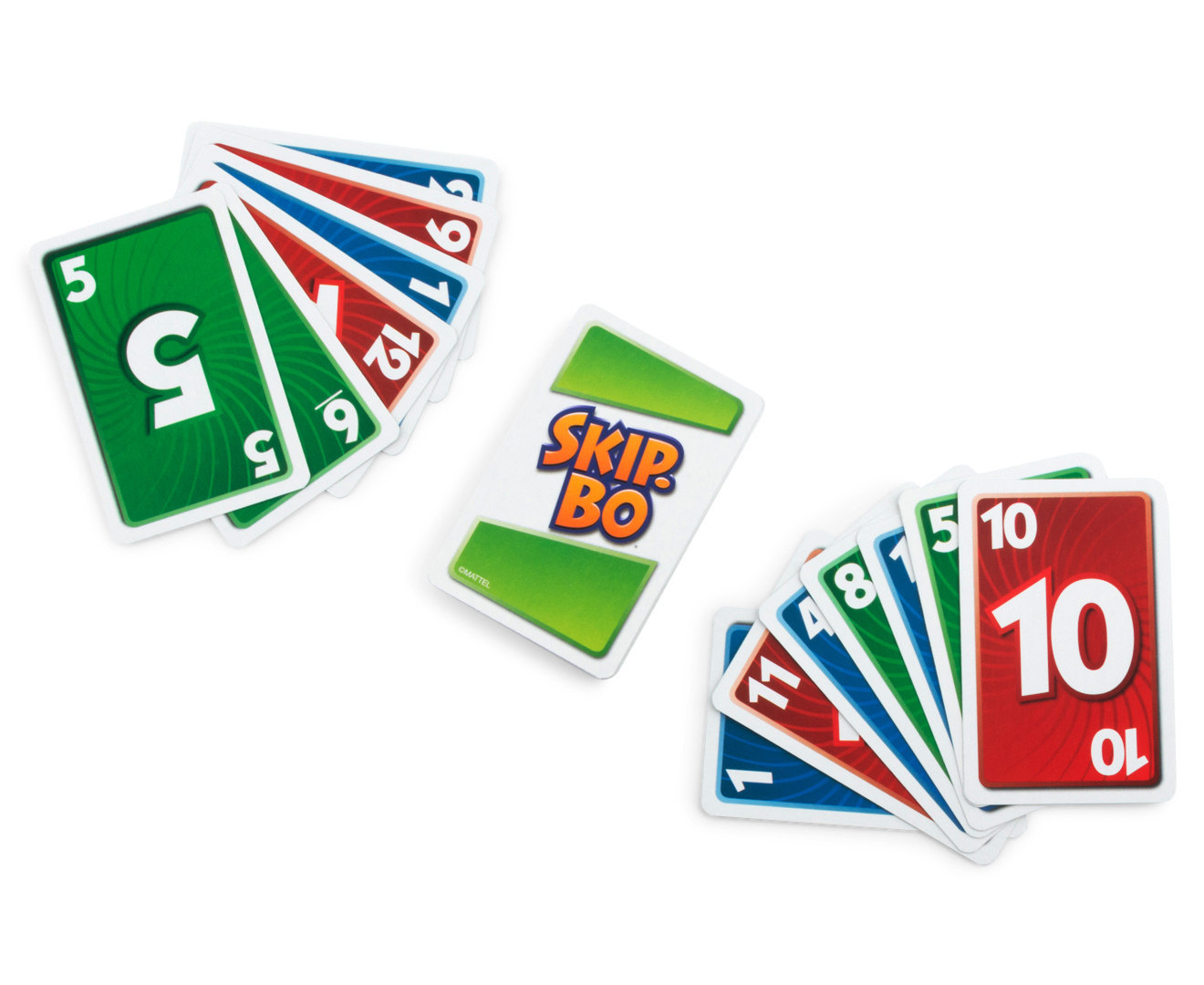 how to play golf card game with skip-bo cards